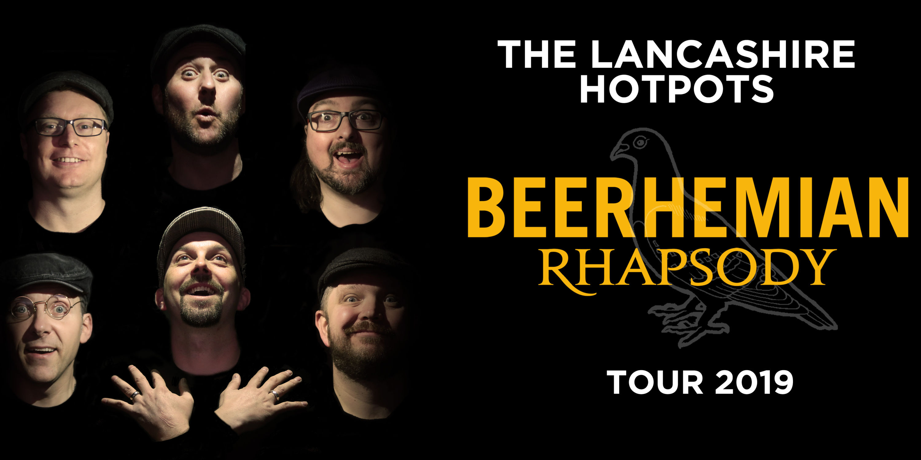 The Lancashire Hotpots Beerhemian Rhapsody Tour promotion