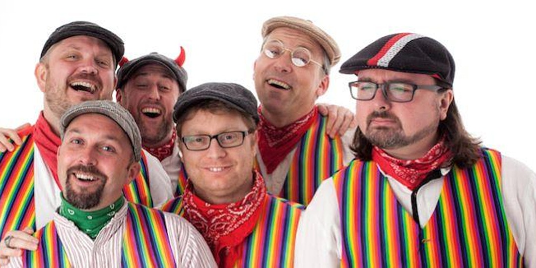 The Lancashire Hotpots band group photo