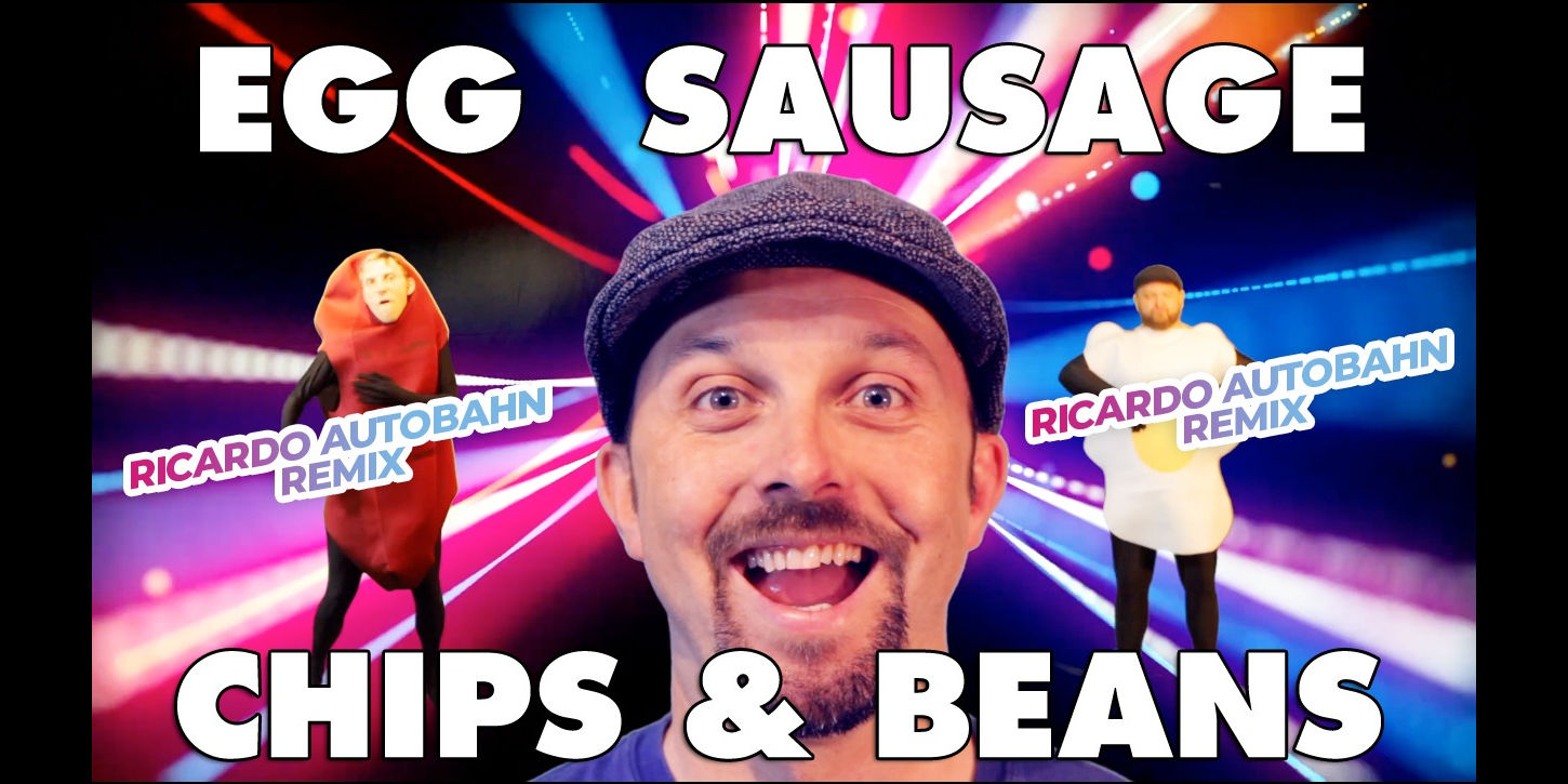 The Lancashire Hotpots Egg Sausage Chips and Beans Ricardo Autobahn Remix